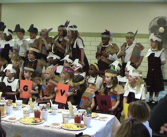Thanks Giving Pagent '04 Group